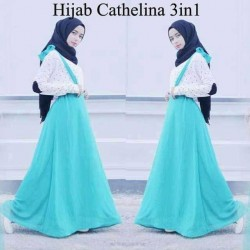 Hijab Cathelina 3 in 1